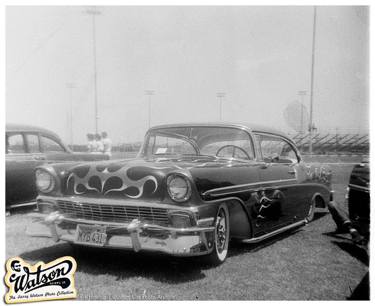 john buzzy busman 39 s 1956 chevy custom with larry watson. Cars Review. Best American Auto & Cars Review