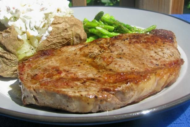 Pan Seared Steak (From Alton Brown) from Food.com: This might even be ...