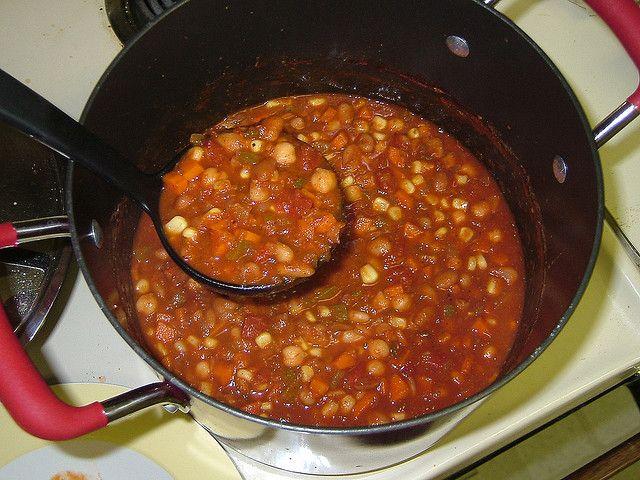 Three Bean Chili 005 by chefambershea, via Flickr
