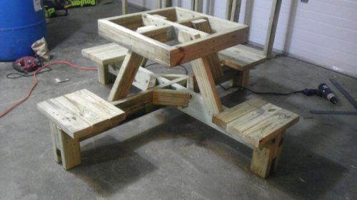 Foot Picnic Table Plans | Foot Picnic Table Plans Free Plans woods ...