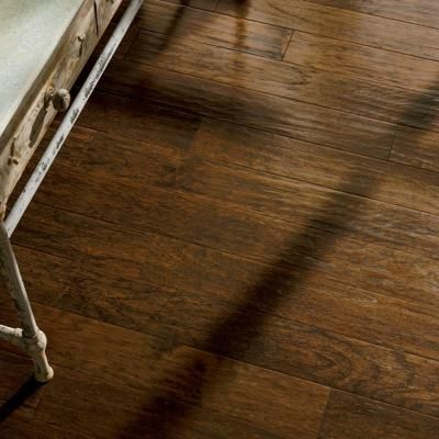 Hardwood bruce flooring american vintage scraped tobacco for Bruce hardwood floors 3 8