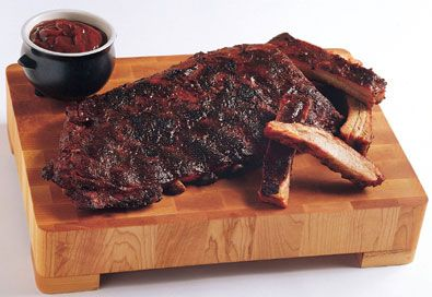 Kansas City Sweet-and-Smoky Ribs for the Epicurious Game Day Giveaway ...