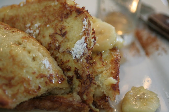 Banana Stuffed French Toast | Brunch ideas for family or guests | Pin ...