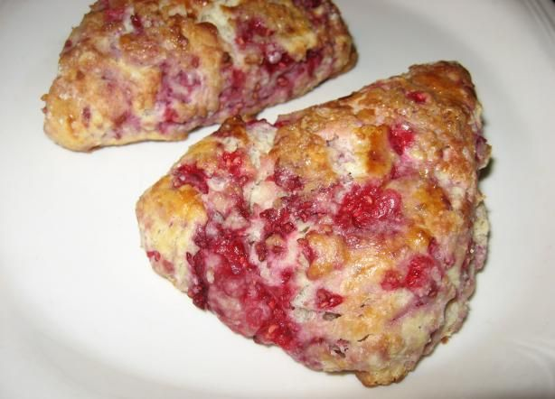 Mimi s Raspberry Scones from Food.com: make with strawberries... so ...