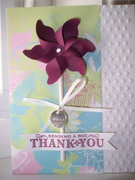 Sending a Big Thank You | Cards by Twinlynn | Pinterest: pinterest.com/pin/491455378058972027