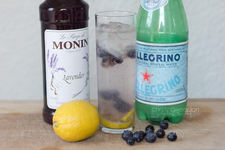 Blueberry lavender lemonade | Party Ideas | Pinterest