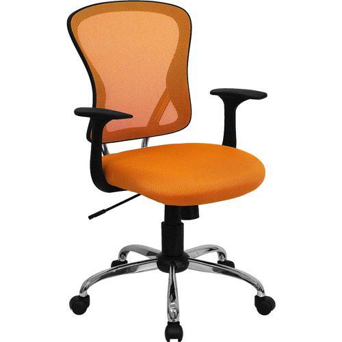 orange office chair House Flat Apt