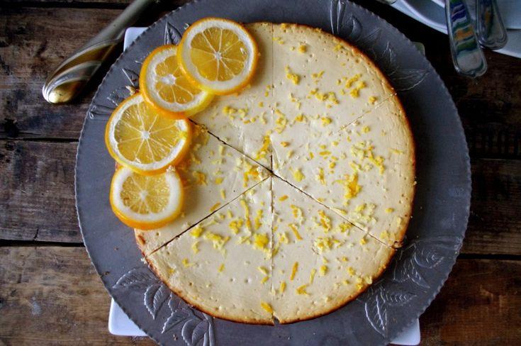 Healthy Crustless Meyer Lemon Cheesecake (GF!) & NITK Behind-The ...