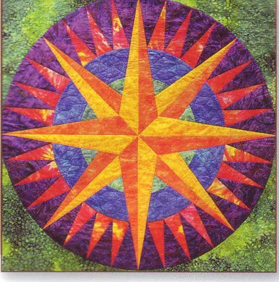 Quilting Patterns Mariner S Compass : quiltsmart mariners compass paperquilt Pinterest