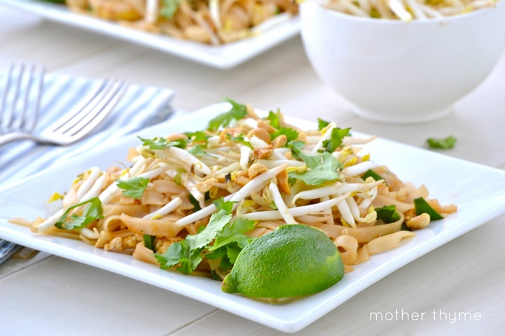 Vegetable Pad Thai - Mmm I think I'm going to have to try this one of ...