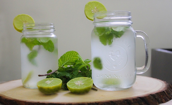 Virgin Mojito, Lime & Mint Drink, Refreshing Drink