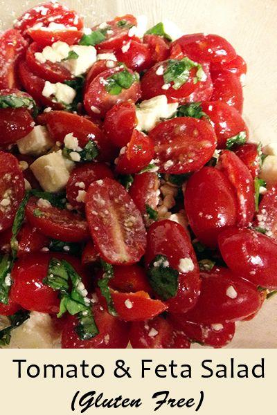 feta tomato salad Denises Tomato and Feta Salad Recipe (Gluten Free)