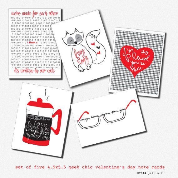 valentine's day card note