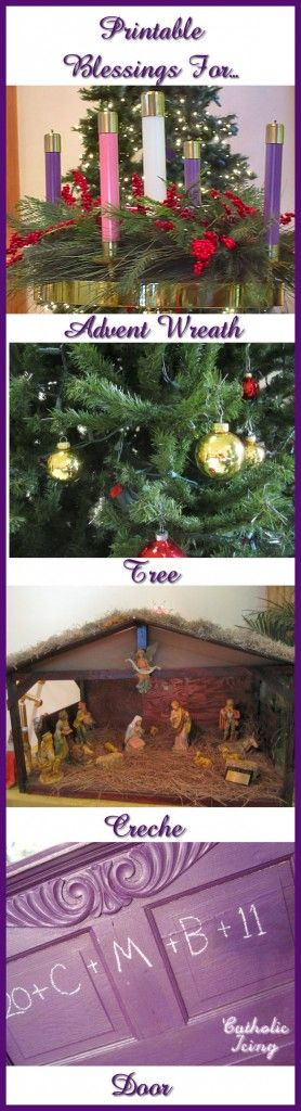Printable advent and christmas blessings for catholic families