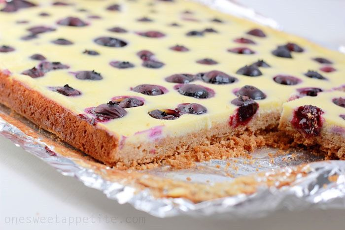 Blueberry Cheesecake Squares Recipes — Dishmaps