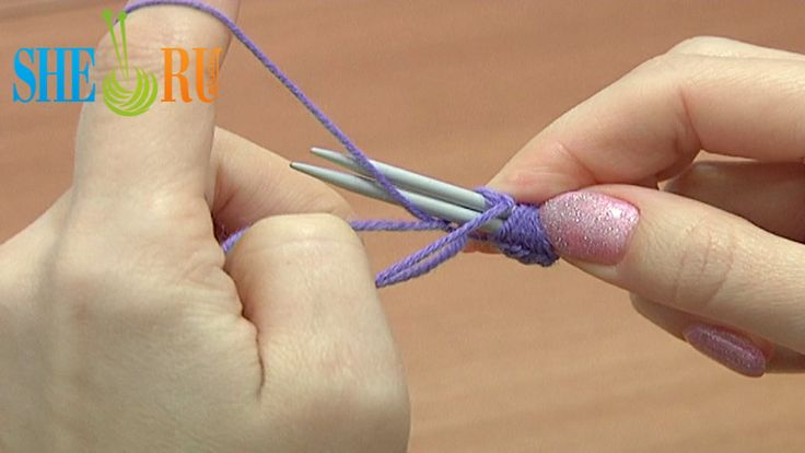 How To Cast On Knitting Stitches Using The Thumb Method : Pin by SHERU Knitting on Knitting Tutorials for Beginners Pinterest