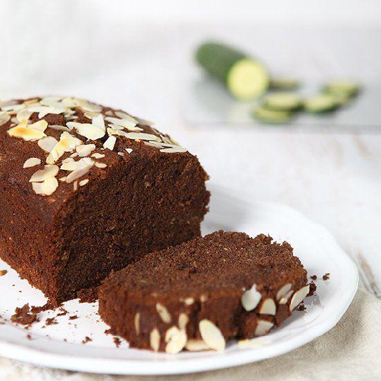 Gluten free - zucchini chocolate almond cake!