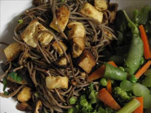 Quick Soba Stir Fry With Tofu from Food.com: From Eden Organic Foods ...