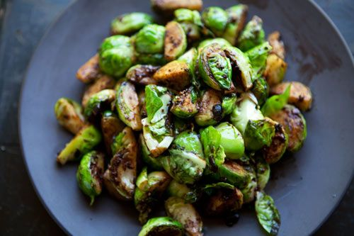 Brussels Sprouts with Black Bean Garlic Sauce | Recipe