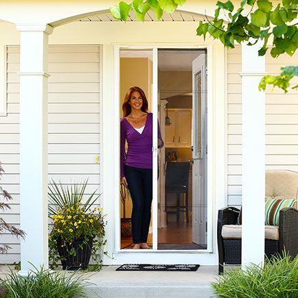 Odl brisa retractable screen doors home sweet home for Retractable screen door ratings