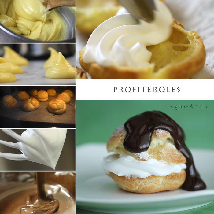 PROFITEROLES-RECIPE | sweet stuff | Pinterest