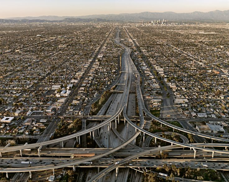 'highway #5 by edward burtynsky // I would buy this as a print in a hot minute