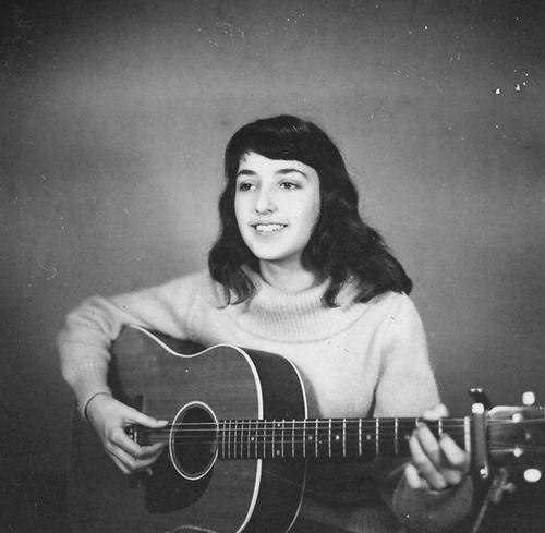 Very young Joan Baez
