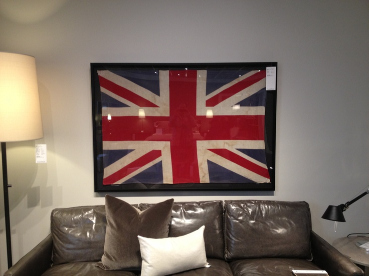 Union Jack Flag At Room And Board 999 Home Decor