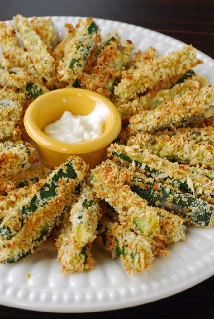 Crispy Baked Zucchini Fries | cooking | Pinterest