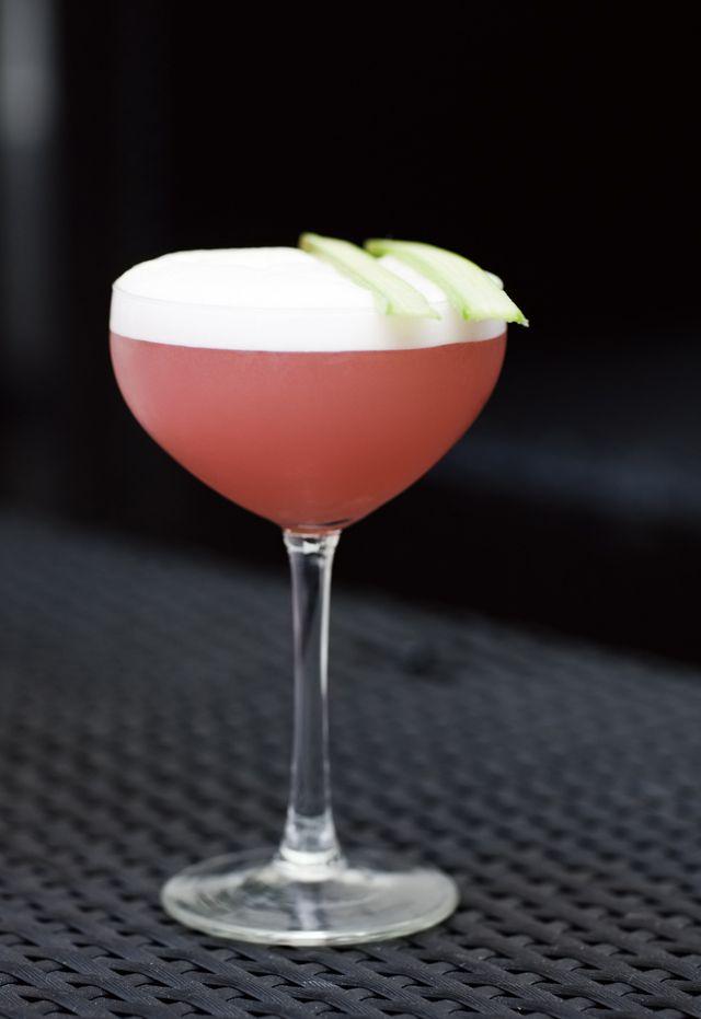 Um... yes please! Rabarber (Rhubarb) Margarita