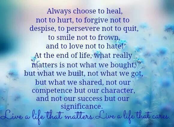 Attractive What Really Matters Quotes. QuotesGram