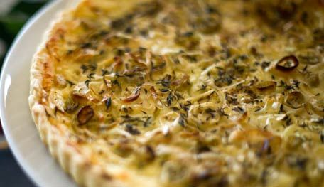 Leek And Ricotta Tart This simple dish combines ricotta cheese with ...