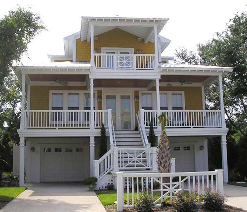 Coastal Home Plans Cedar Cove beach home Pinterest