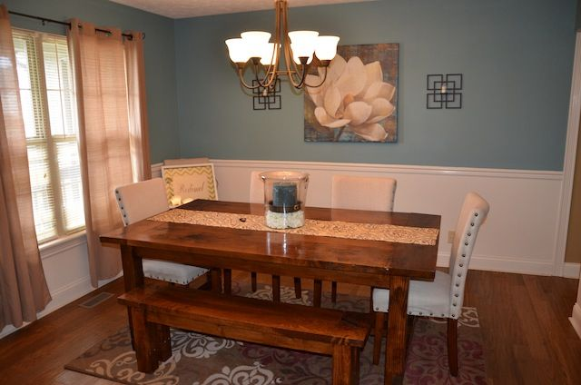Homemade Dining Room Table Gorgeous Inspiration Design