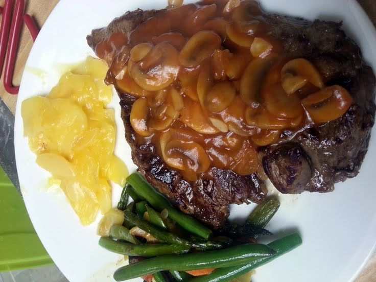 mushroom tomato sauce grilled steak with tomato grilled steak with