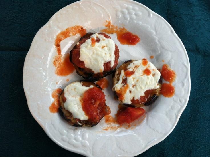Grilled Eggplant Parmesan | Food | Pinterest