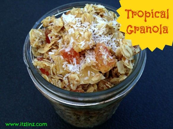 Tropical Granola   Breakfasts   Pinterest