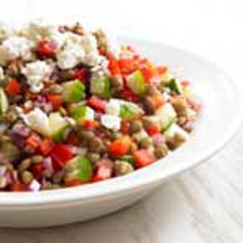 Image for Losers' Lentil Salad (Biggest Loser Quick and Easy Cookbook)