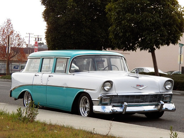 1956 chevy bel air station wagon the good ole days for 1956 chevy wagon 4 door