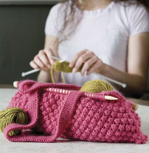knitted bags - Google Search