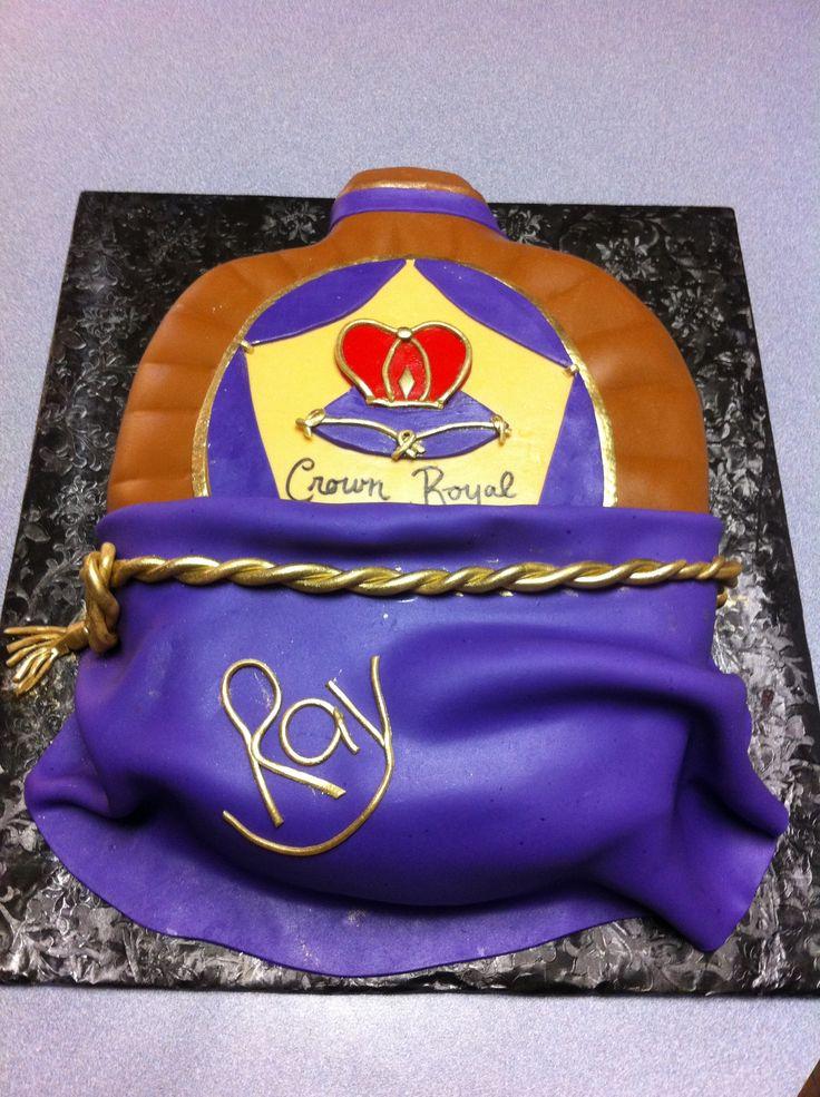 Birthday Royal Cake Hd Images : Crown Royal Birthday Cake Cakes I Made Pinterest