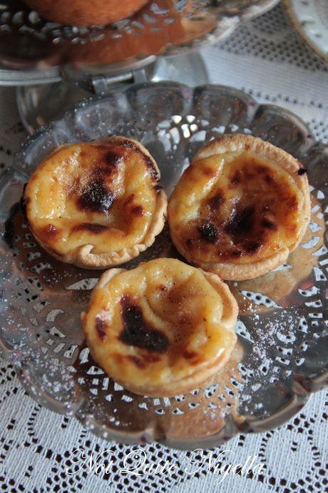 Portuguese Custard Tarts Recipe — Dishmaps