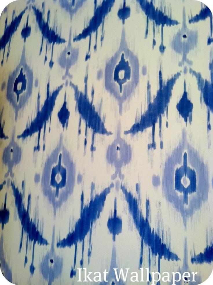 ikat wallpaper for my bedroom pattern pinterest