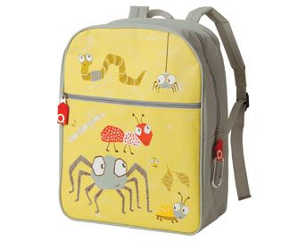 "From O.R.E., a fun little brand with great designs!  Definitely for the pre-school crowd (sized at just 11.5"" x 15"" x 5"").  They have a great range of backpacks, lunchboxes, and accessories in themes like robots, skulls, transportation, bottle caps, rulers, pencils, and more."