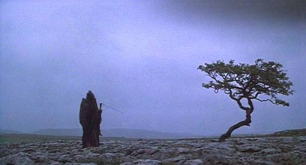 "The Grim Reaper from the Monty Python movie ""The Meaning of Life"" (1983)"