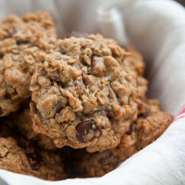 Awesome Oatmeal Chocolate Chip Cookie | Foodage | Pinterest