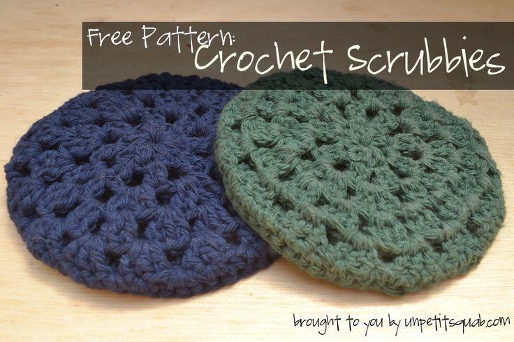 Crochet Pattern: Dish Scrubber crochet jewlrey Pinterest