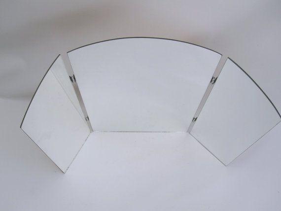 Tri Fold Mirror Large 3 Way Vanity Mirror Standing