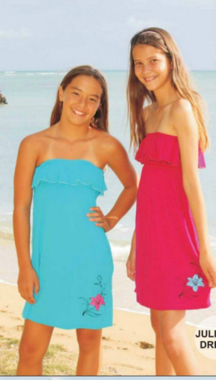 tween girl swim dress images