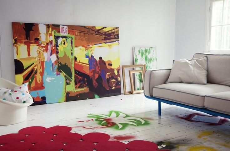 Tableau Tapis Rouge Et Canap Ikea Ps 2012 Pinterest